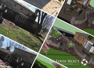 Custom outdoor design montage