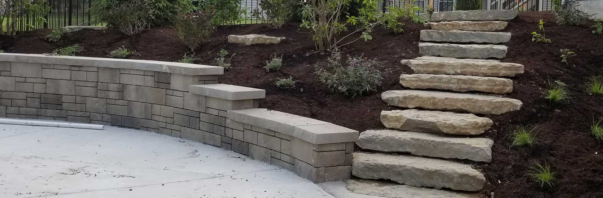 Custom Stones Steps