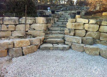 Custom retaining Walls