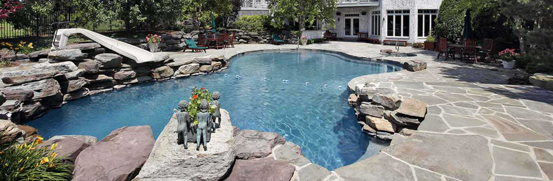 Hardscaping pool